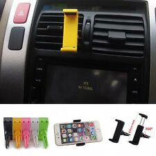 Universal Car Air Vent Mount Cradle Stand Holder For iPhone Cellphone HTC GPS