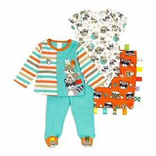 Taggies Baby Boy 3-Piece Apparel Set + Blanket New Born