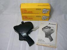 Primark L14 Price Gun Labeler w/ 16 Rolls 1 Line Labels & 2 Ink Rollers & Manual