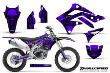 KAWASAKI KXF450 KX450F 12-15 CREATORX GRAPHICS KIT DECALS SKULLCIFIED PR