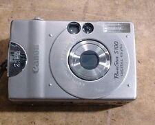 Canon PowerShot Digital ELPH S100 / Digital IXUS 2.0 MP Digital Camera - Silver
