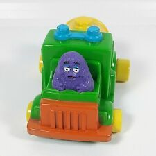 1990 Vintage Toy Grimace McDonald's Driving a Truck Happy Meal Collectibles