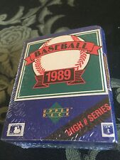 Upper Deck 1989 Baseball High # Series  Assortment Of Team Logo Hologram
