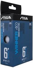 Table Tennis Balls: Stiga Winner 2 Star Winner Plastic White x 72 Pack