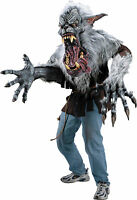 HALLOWEEN PROP MIDNIGHT HOWL WEREWOLF CREATURE REACHER COSTUME MASK