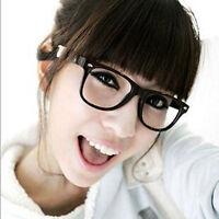 1pcs Fashion Retro Unisex Mens Womens Clear Lens Nerd Geek Glasses  New