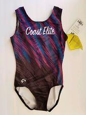GK Elite Leotard Coast Elite Gymnastics Dance Bodysuit Adult X-Small  (AXS)