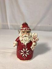 Enesco Jim Shore Heartwood Creek Nordic Noel Santa Hanging Ornament 3.5�