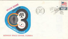 US Space cachet cover Kennedy Space Center Skylab Splashdown 1974