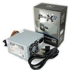 SUMVISION ATX PC POWER SUPPLY UNIT QUIET / SILENT PSU 500W WITH SATA