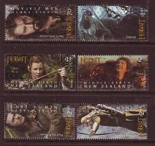 Nouvelle-Zélande 2013 Bilbo le Hobbit jeu de 6 fine utilisé