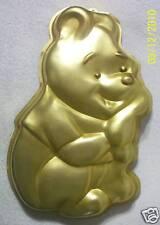Wilton DISNEY WINNIE THE POOH CAKE PAN Mold Tin GOLD 515-401 FREE SHIP