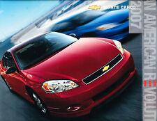2007 Chevrolet Monte Carlo Original Dealer Sales Brochure - SS