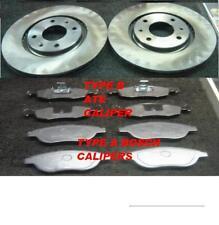FIAT DOBLO CARGO 1.9D JTD 01-2010 FRONT BRAKE DISCS PADS  257MM