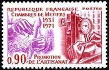 "FRANCE N°1691 ""ANNIVERSAIRE CHAMBRE METIERS""NEUF xx TTB"