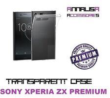 COVER TRASPARENTE SONY XPERIA XZ PREMIUM CUSTODIA PROTEZIONE TRANSPARENT CASE ZX