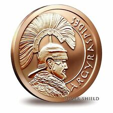 2014 Silver Shield Argyraspides 1 oz .999 Fine Copper | Tube (20 Coins)