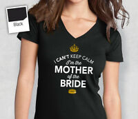 Mother Of The Bride T Shirt Bridal Gift Present Hen Do Wedding Party