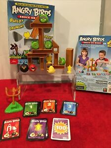 Angry Birds Knock On Wood Game 2010 Mattell W2793
