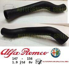TUBO MANICOTTO INTERCOOLER SCAMBIATORE DI CALORE ALFA ROMEO 147 / 156 - 1.9 JTD