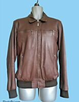 MENS WOODLAND LEATHER JACKET SIZE XL (see details) GREAT QUALITY CONDITION #416