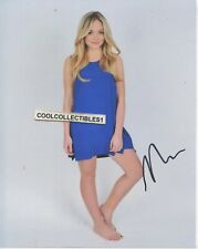 NATALIE ALYN LIND IN PERSON SIGNED 8X10 COLOR PHOTO COA