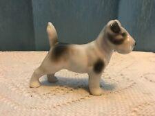 terrier porcelain dog Avp or Ap Germany 4� long 2.75� tall