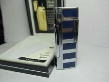RARE Colibri Blue & Silver Flint Jet Elite Lighter High Altitude Use