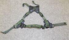 USMC Gentex Retention Helmet Chin Strap X Harness LWH Green X-Large