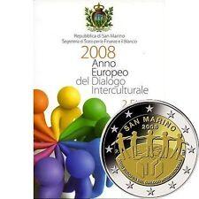 Pièces euro saint Marin année 2008
