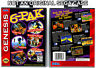 6-Pak - Sega Genesis Custom Case *NO GAME*