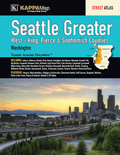 Seattle Greater WA ADC Map Street Atlas