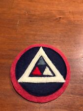 """WWI US Army 39th """"Delta""""  Division  patch wool"""