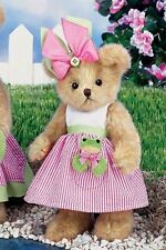 "Bearington Bear REESE & RIBBIT 10""  bear and  Frog Doll"