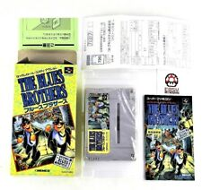 The Blues Brothers Reg Card Super Famicom Nintendo System Japan