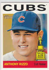 ANTHONY RIZZO Chicago Cubs ALL-STAR ROOKIE CARD Topps Heritage Baseball