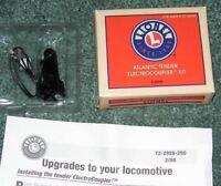 Lionel #2046W tender box  w//tuck in inserts