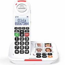 Téléphone Sans Fil Senior Amplifié +90 Décibels Swissvoice Xtra 2155