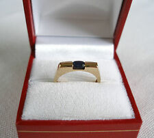 .25 Ct. Sapphire Solitaire  10k Gold Ring
