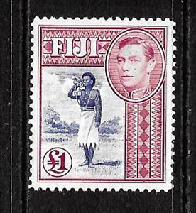 Fiji .. £1.00 mint postage stamp .. S.G.No.266b .. C.V. IS £55 ..