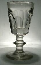 VICTORIAN CUT GLASS  DECEPTION  DICEPTIVE TOASTING DRAM