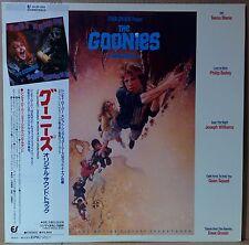 OST GOONIES LP w/OBI Insert Cyndi Lauper Dave Grusin Orig JAPAN ISSUE