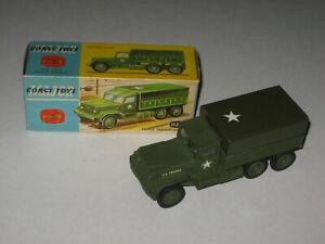 Corgi Toys No. 1133 Troop Transporter Near Mint In Nice Original Crisp Box