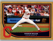 Andrew Miller 2018 Topps Big League GOLD PARALLEL Indians #30