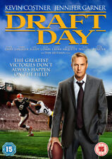Draft Day DVD (2015) Kevin Costner, Reitman (DIR) cert 15 ***NEW*** Great Value
