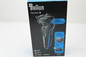 Braun Series 5 5018s Wet & Dry Shaver - Blue EN58