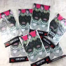 ECKO RED ankle socks Shoe size 5 -9 BULL DOG PUPPY