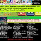 #1 Treasure Island 1.11 Items Always Refilled 1/2/3HR Unlimited Trips Online NOW