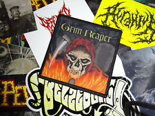 Grim Reaper Patch New-Wave-of-British-Heavy-Metal NWOBHM Diamond Head