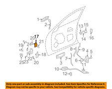 Cadillac GM OEM 00-05 DeVille-Door Hinge Left 25716658